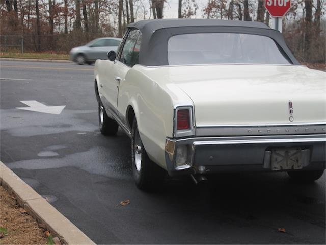 1967 Oldsmobile Cutlass Base 29,819 Miles yellow Convertible
