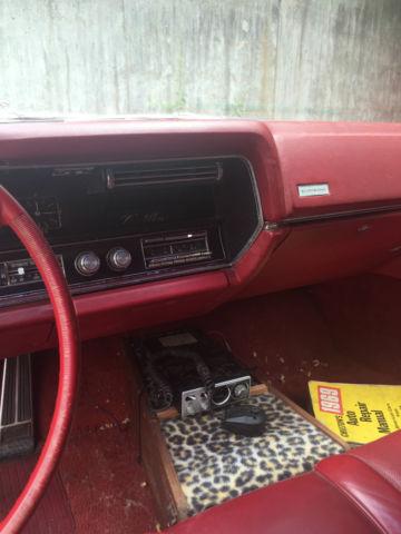 1967 Original White Cadillac Eldorado Two Door Red Leather Interior Classic Cadillac