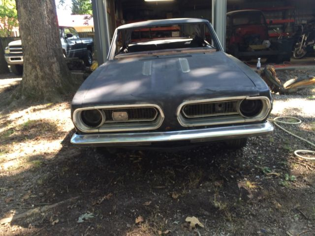 1967 Plymouth Barracuda parts or drag car Mopar A body ...