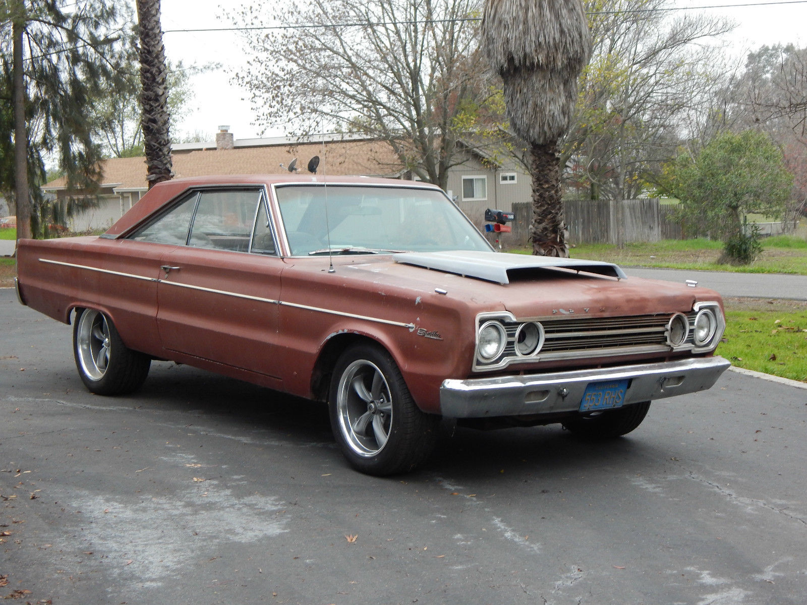 1967 Plymouth Satellite Original Matching S 383 4 Speed