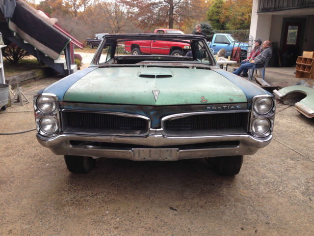 1967 Pontiac GTO High Factory Optioned Convertible with NOS and Used