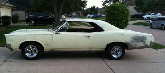 1967 Pontiac Gto 400 Project Car For Sale: 1967 Pontiac Tempest Custom, GTO Clone, Project Car