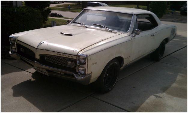 1967 pontiac tempest custom  gto clone  project car
