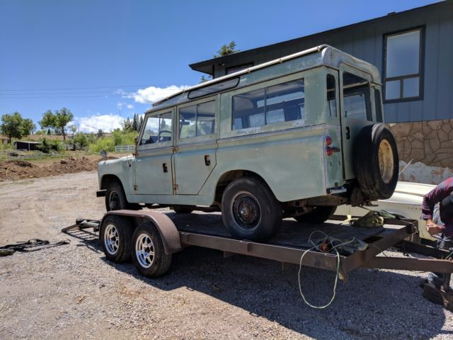 1967 Series 2a Land Rover Rare 6 Cylinder 109