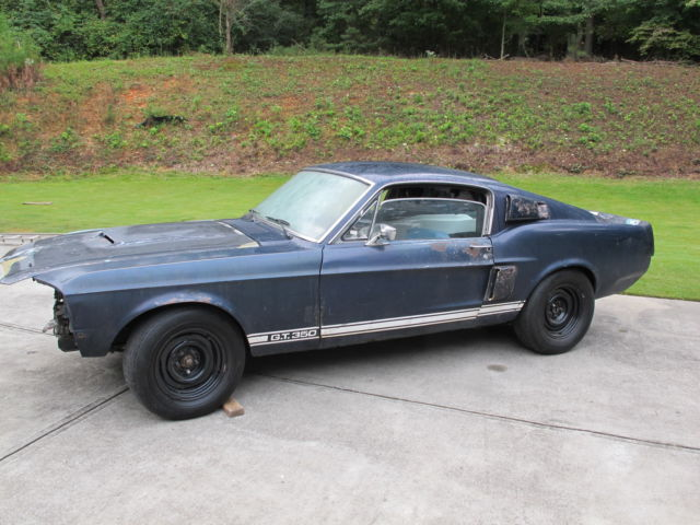 1967 Shelby GT350 for restoration  No rust Georgia car from