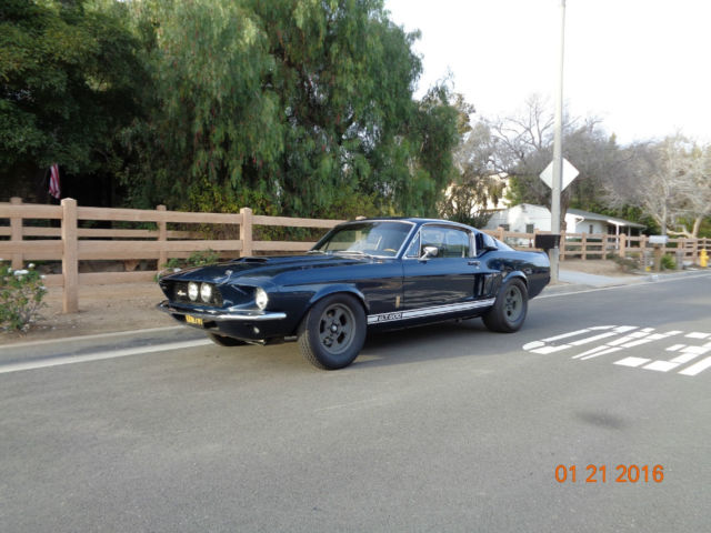 1967 shelby mustang gt500 tribute - classic ford mustang 1967 for sale