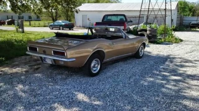 1967 solid gold convertible real deal rs 1967 chevrolet camaro 68 69 classic chevrolet. Black Bedroom Furniture Sets. Home Design Ideas