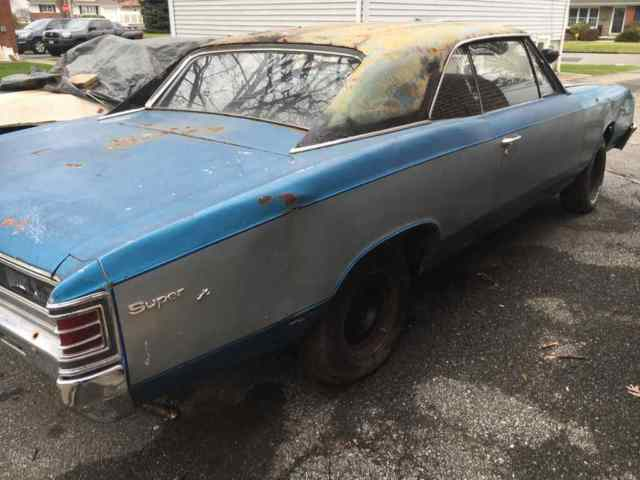 1967 SS Chevelle 454 4-Speed 12-bolt 138 VIN Project