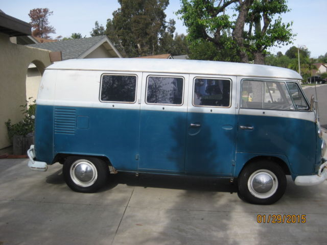 1967 volkswagen bus original paint and interior 11 window for 11 window vw bus