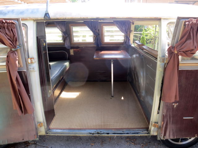 1967 volkswagen sundial camper split window bus original paint and interior classic. Black Bedroom Furniture Sets. Home Design Ideas