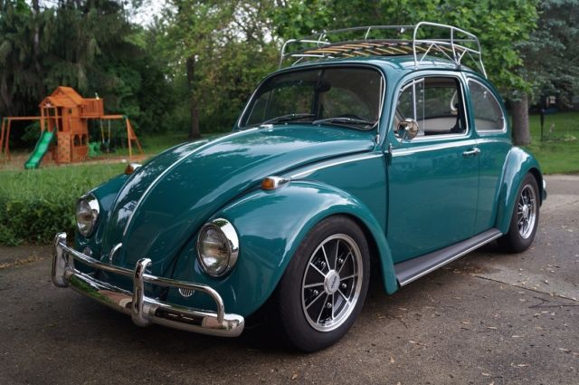1967 volkswagen sunroof beetle java green cal look brm vw empi radio classic volkswagen. Black Bedroom Furniture Sets. Home Design Ideas