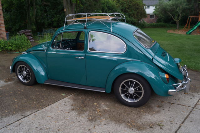 1967 Volkswagen Sunroof Beetle - Java Green Cal Look BRM - VW Empi Radio - Classic Volkswagen ...