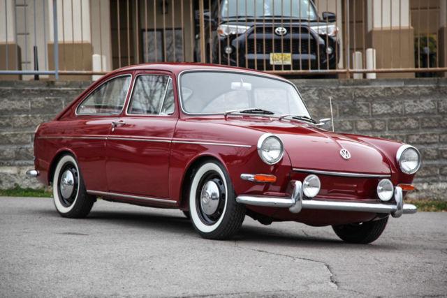1967 Volkswagen Type 3 Fastback Pan Off Restoration Dual