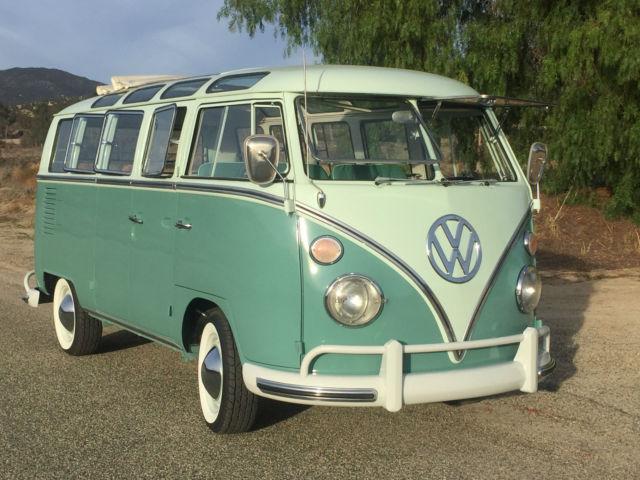 1967 VW 21 Window Microbus , Beautiful Restored Classic - Classic Volkswagen Bus/Vanagon 1967 ...