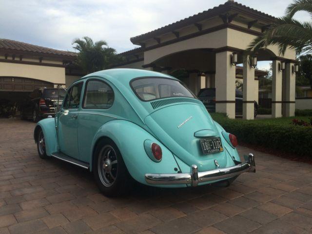 1967 Vw Bug Beetle Lowered Load Stereo Custom Interior