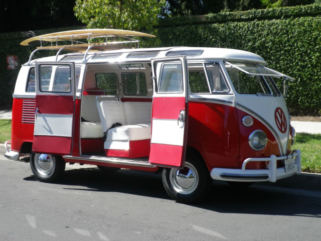 1967 vw bus rare 21 window walk thru samba bus rag top for 1967 21 window vw bus for sale