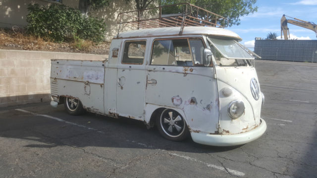 1967 Vw Double Cab Truck Classic Volkswagen Bus Vanagon 1963 For Sale