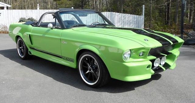1967 1968 mustang custom fastback shelby gt500 eleanor classic ford mustang 1967 for sale. Black Bedroom Furniture Sets. Home Design Ideas