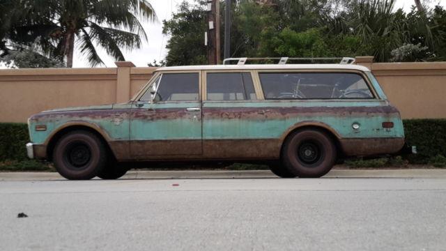 1968 3 door suburban 68 chevy c 10 surf wagon patina shop for 10 door truck