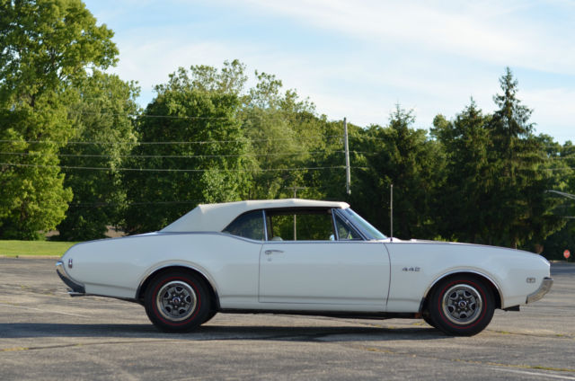 1968 442 W-30 convertible - Classic Oldsmobile 442 1968 for sale