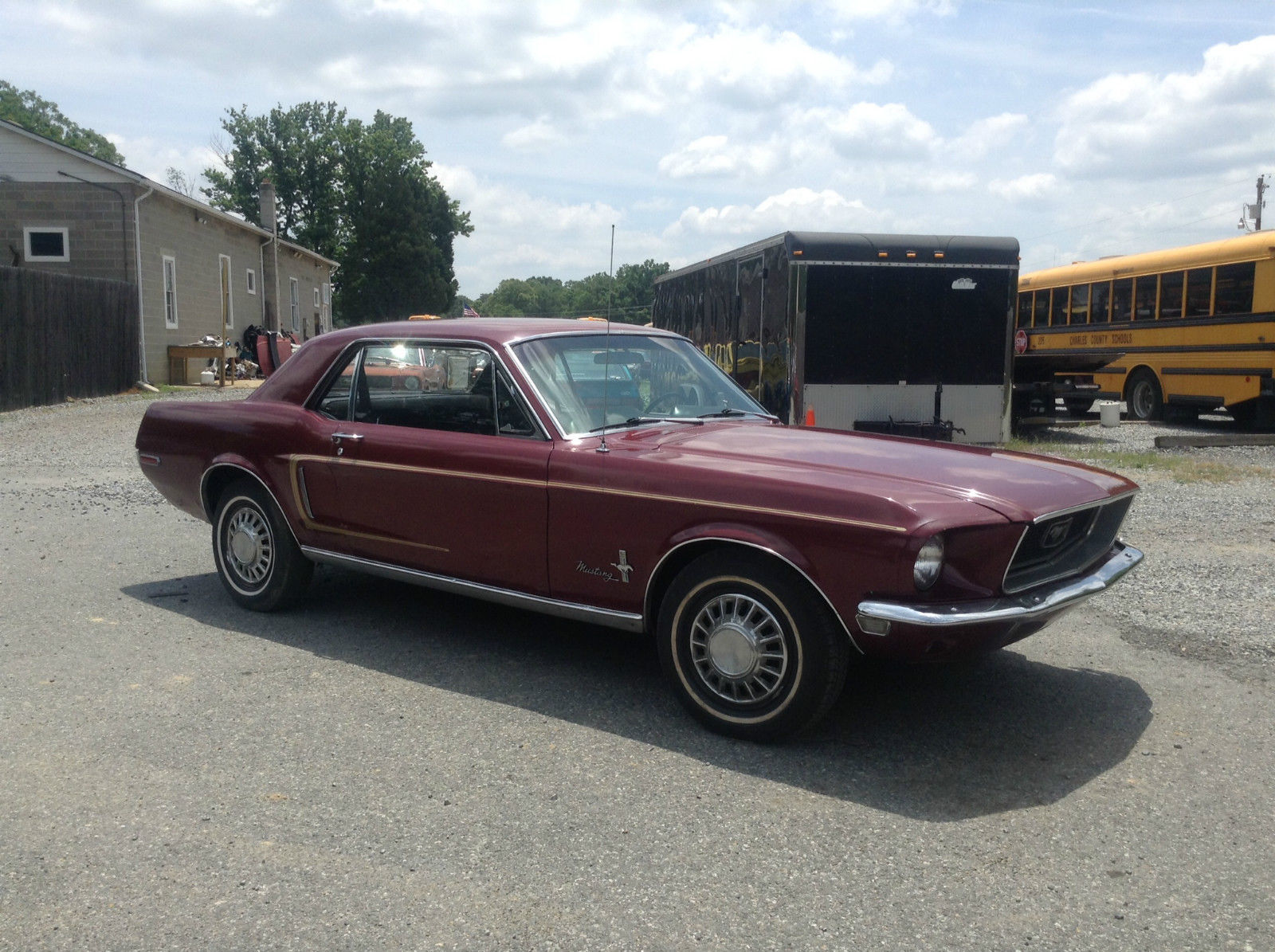 1968 68 Ford Mustang One Owner Barn Find Running 289 Ac Not Wiring Prevnext