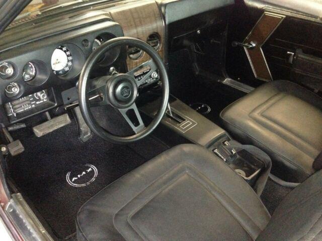 1968 Amc Amx 390 Auto X Code Rare Calcutta Russett