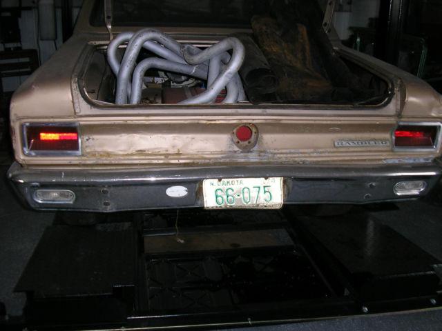 amc rambler american  door coupe  amx javelin