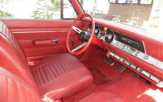 1968 base plymouth barracuda fastback gold red interior new 340 auto read classic plymouth. Black Bedroom Furniture Sets. Home Design Ideas
