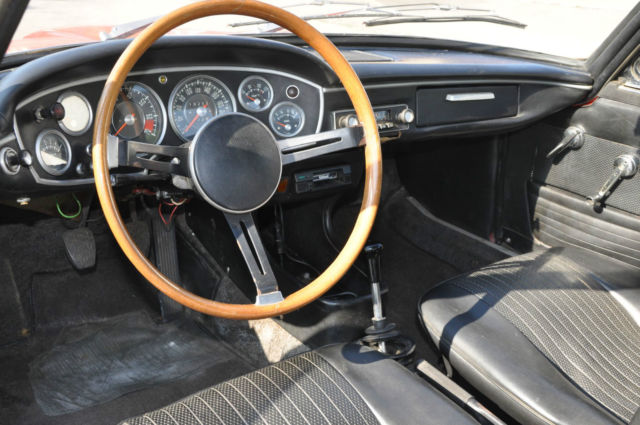 1968 bmw 1600 gt coupe designed by frua classic bmw 1600