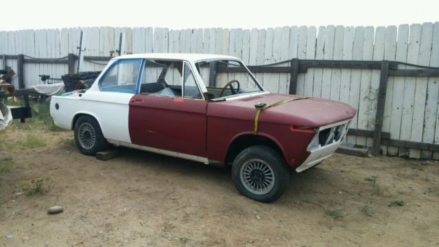 1968 bmw 2002 shell with m10 engine e12 head straight body limited rust classic bmw 2002. Black Bedroom Furniture Sets. Home Design Ideas