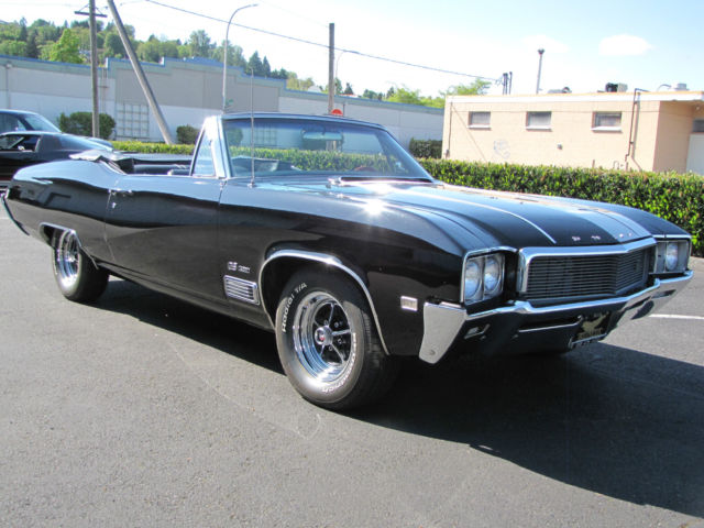 Used Cars Bay Area >> 1968 Buick Gran Sport GS400 Convertible 4 Speed - Classic ...