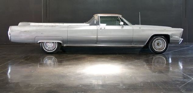 How To Sell A Car In Texas >> 1968 CADILLAC FLOWER CAR, HEARSE PICKUP built by HESS and ...