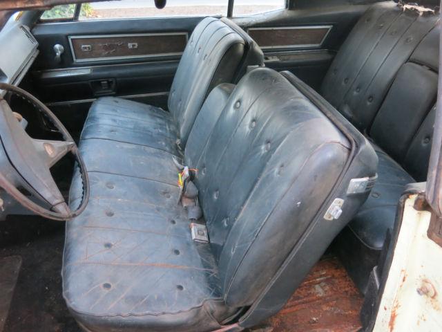 1968 Cadillac No Reserve Coupe Deville 2 Door Parts Car