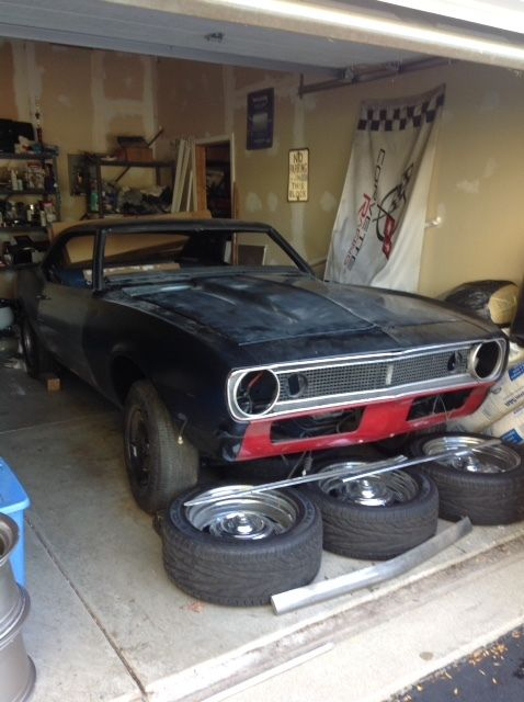1968 camaro project car ready to finish rust free roller 67 68 69 1st gen classic. Black Bedroom Furniture Sets. Home Design Ideas