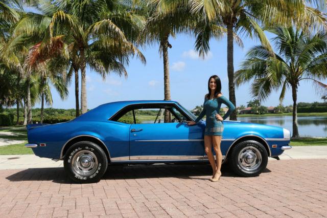 1968 Camaro Ss 396 Big Block Classic Chevrolet Camaro