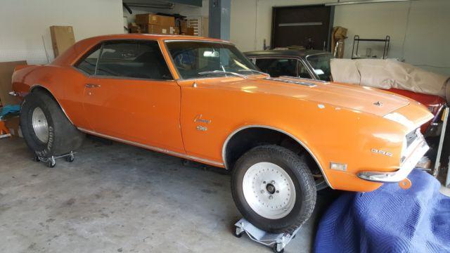 1968 Camaro Ss396 375hp L78 Factory Bv 12 Bolt Special