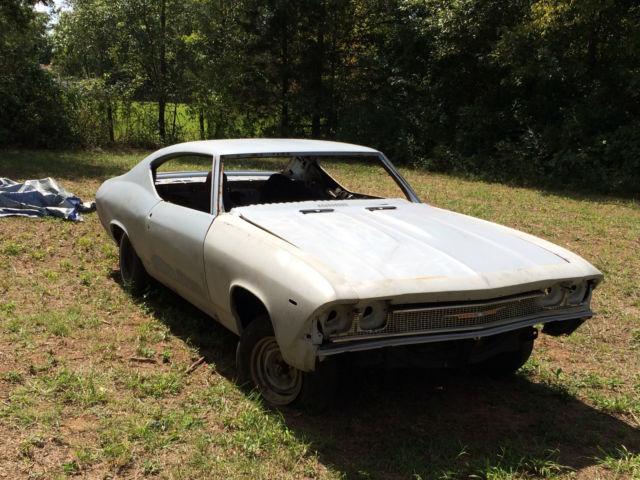 1968 Chevelle Malibu Project Car Classic Chevrolet