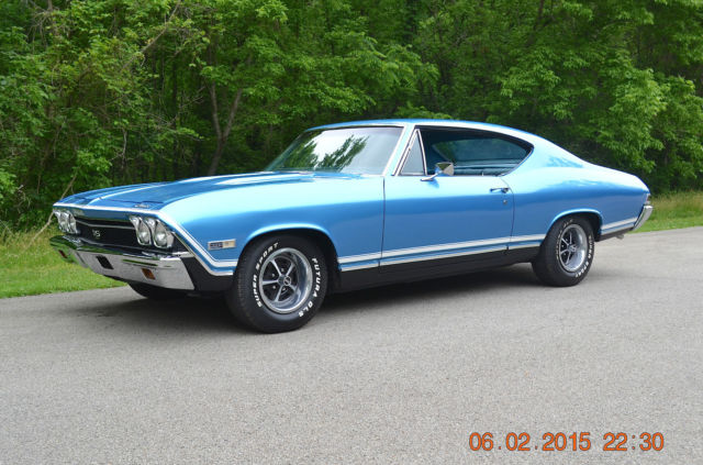 1968 Chevelle Ss 396 4spd Tribute Original Sheetmetal