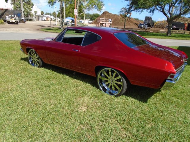 Used Chevrolet Ss San Antonio >> 1968 CHEVELLE SS 396 with a 572 BIG BLOCK 5 SPEED TREMEC RESTO-MOD / PRO-TOURING - Classic ...