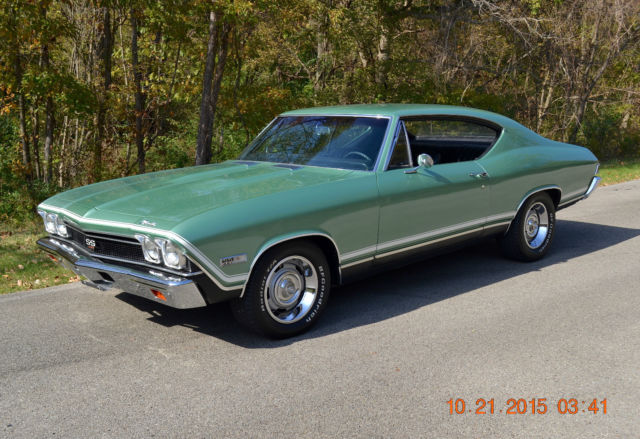 1968 CHEVELLE SS 427 TRIBUTE SOLID ORIGINAL METAL TEXAS ...
