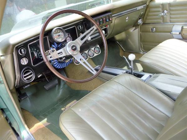 1968 chevelle ss original paint interior top numbers matching protect o plate classic. Black Bedroom Furniture Sets. Home Design Ideas