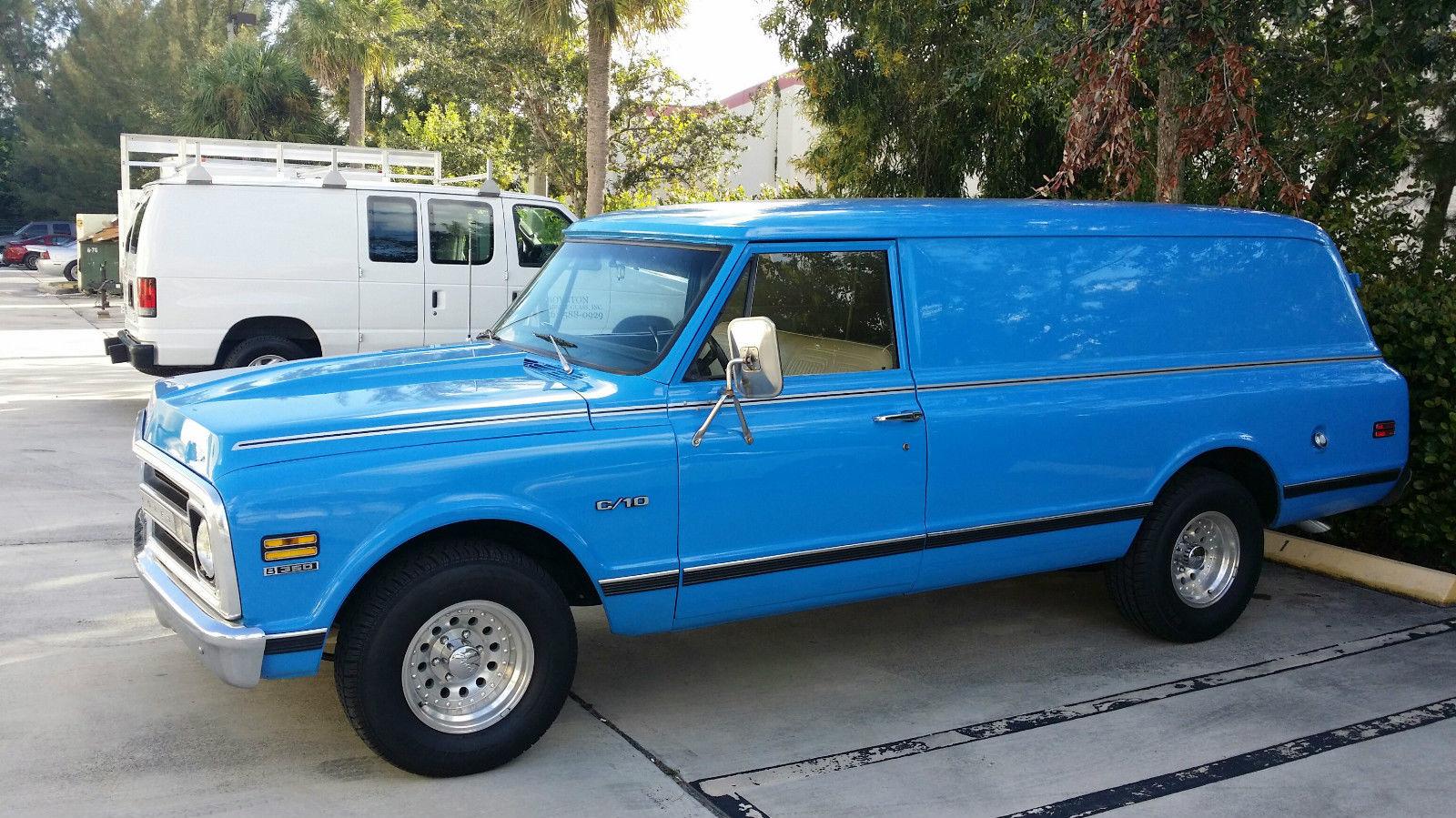 1968 chevrolet c 10 panel truck classic chevrolet c 10 1968 for sale