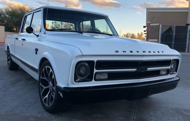 1968 Chevrolet C10 Crew Cab 4 Door Classic Chevrolet C