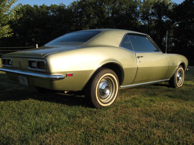 1968 Chevrolet Camaro 17k Original Mile California Car