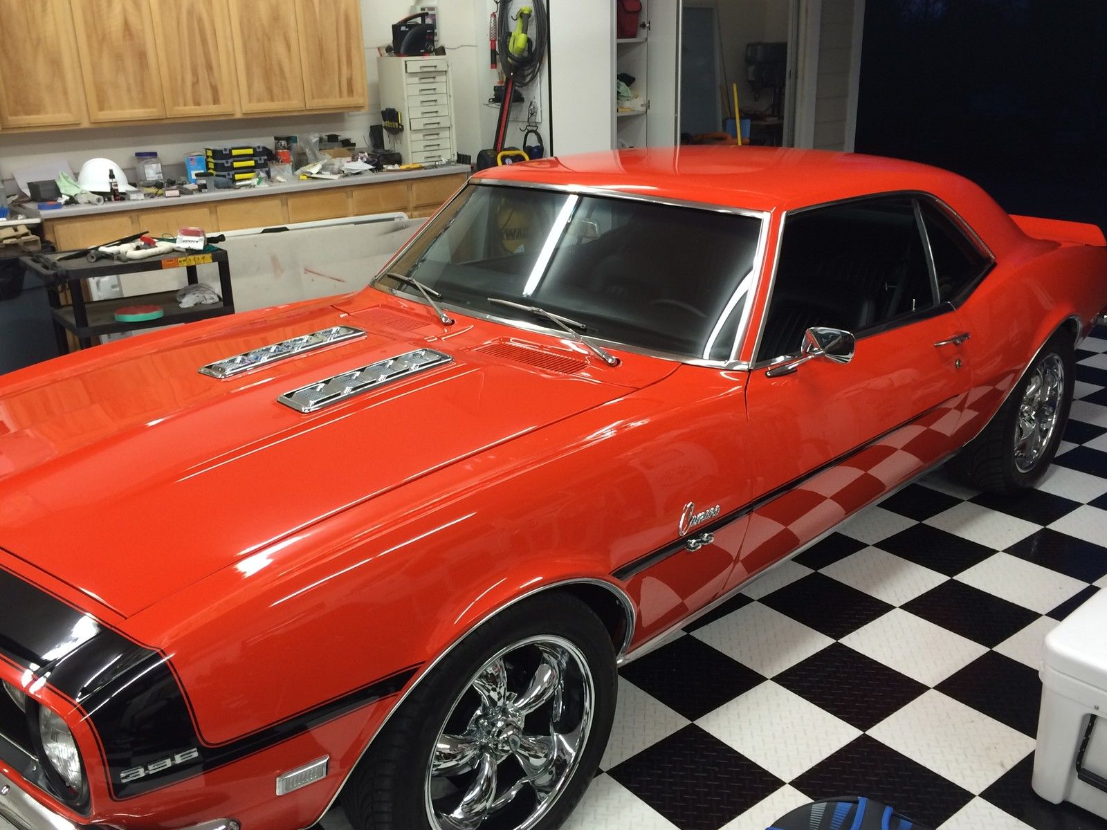 1968 Chevrolet Camaro Ss 396 Big Block Classic