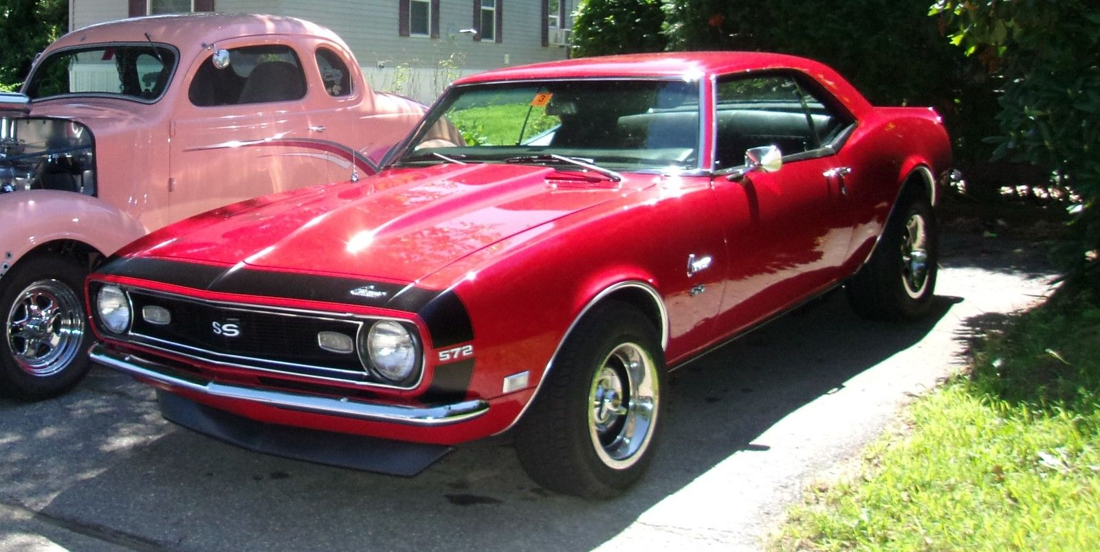 1968 Chevrolet Camaro Ss Matador Red 572 Big Block 4 Speed Muscle Car Completely Redone Classic For Sale