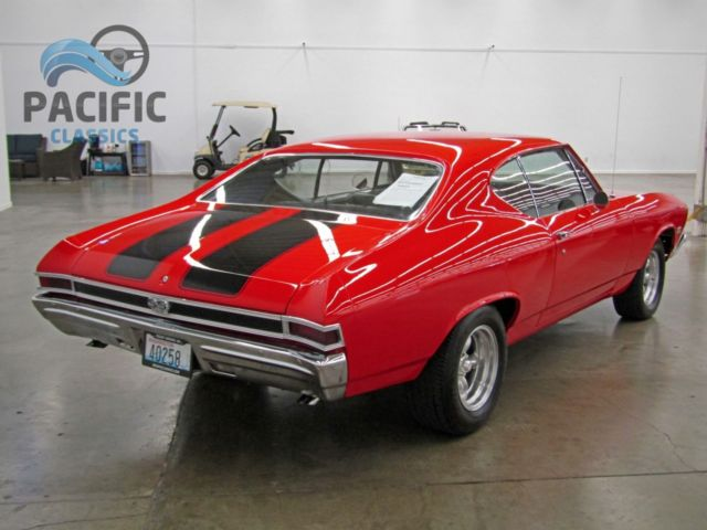 1968 chevrolet chevelle ss 396    4 speed    12 bolt posi