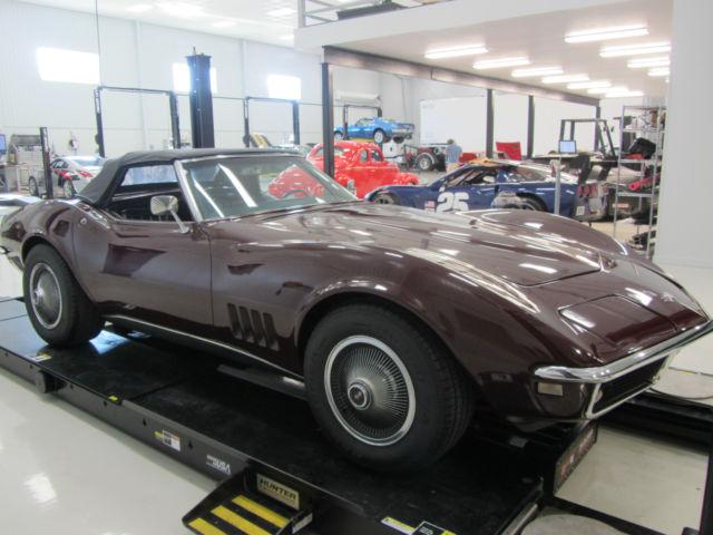 1968 Chevrolet Corvette C3 Convertible Classic Chevrolet Corvette
