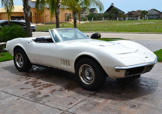 1968 Chevrolet Corvette Convertible 427 390 Classic