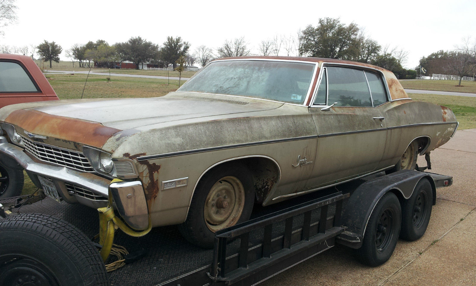 1968 Chevrolet Impala Custom Barn Find True Survivor In Every Sense Coupe Of The Word